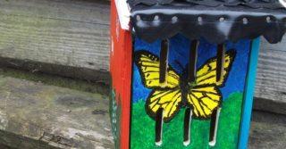 Knutselmiddag in de Gesteentetuin Vlinderkastje